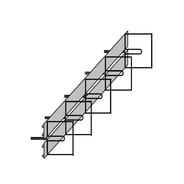 Abschalelement Typ E 93 für Wand/Wand - Boden/Boden