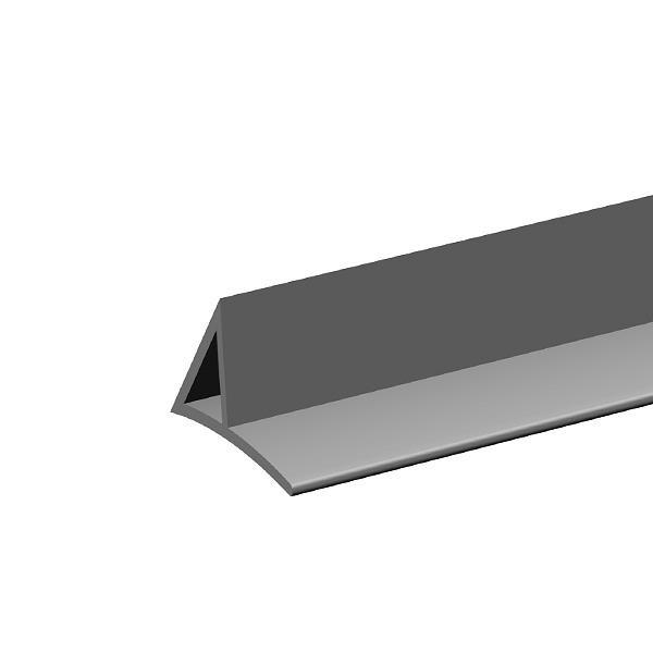 Dreikantleisten mit Nagelfahne aus Kunststoff