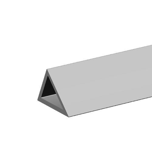 Dreikantleisten mit Nagellöchern aus Kunststoff