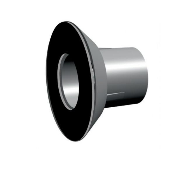 Druckkonus Standard (PVC-frei) mit Flachdichtung aufgeklebt