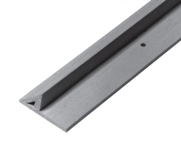 Dreikantleiste aus Kunststoff mit starker Nagelfahne